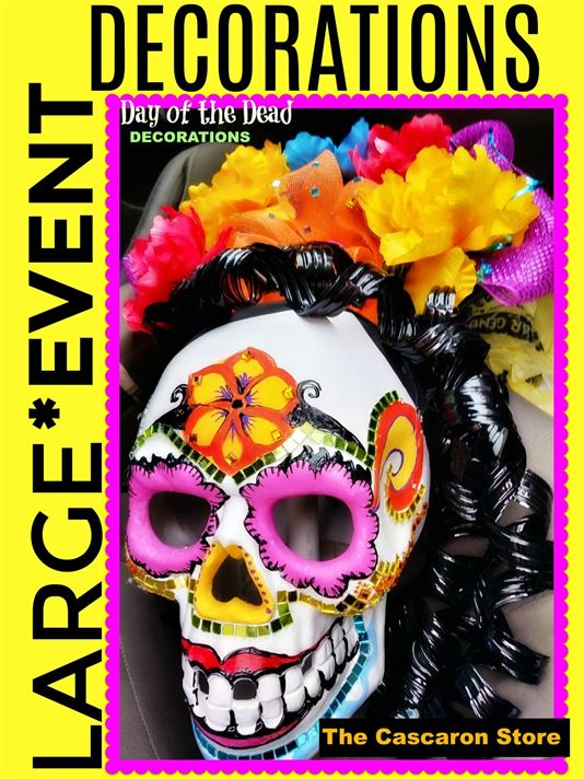 Day of the dead custom displays & props