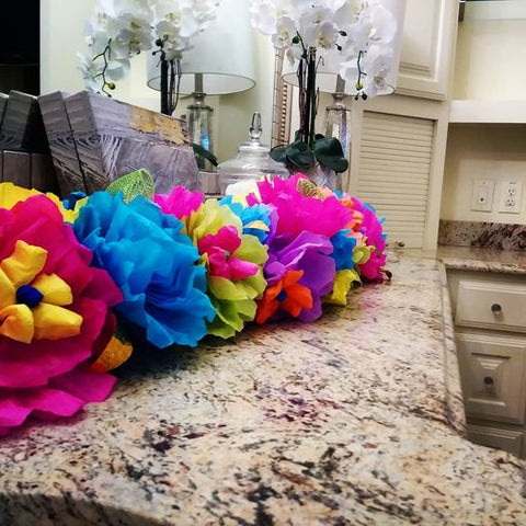 Fiesta Home Decor Garland  by The Cascaron Store
