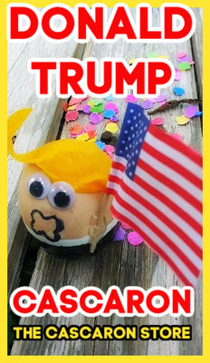 Donald Trump Cascarones Donald Trump Cascarones - Fiesta Arts Designs
