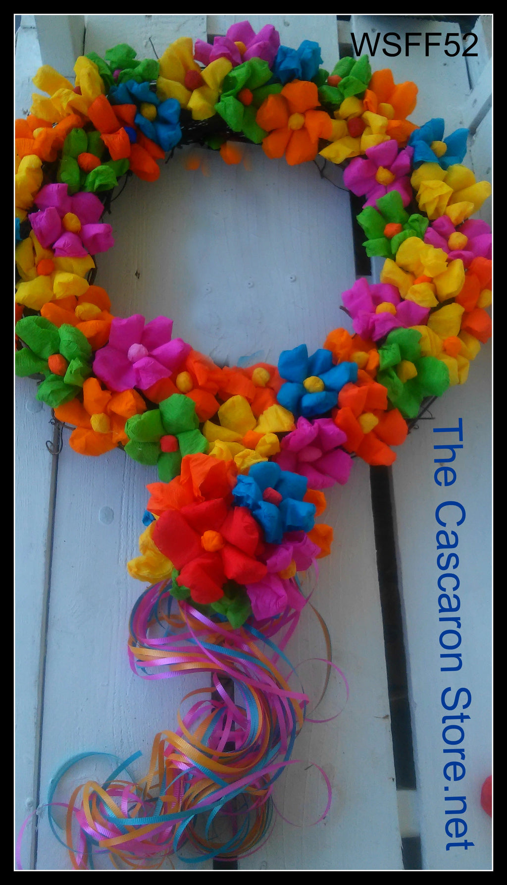 Flowers Wreath Flowers Wreath - Fiesta Arts Designs