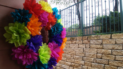 Fiesta Wreath Fiesta Wreath - Fiesta Arts Designs