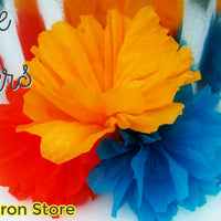 Large Crepe paper flower Mexican Party Fiesta San Antonio Decoration