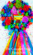 Fiesta Beautiful Donkey Door Wreath Fiesta Beautiful Donkey Door Wreath - Fiesta Arts DesignsFiesta Wreath