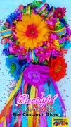 Fiesta Wreath San Antonio Party Mexican Door Wreath