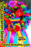 Fiesta Wreath Beautiful Donkey Design