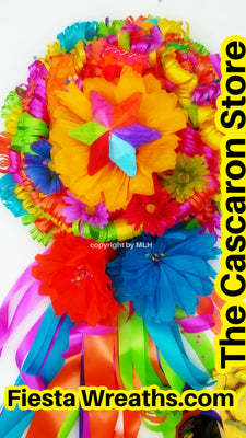 Fiesta Colorful Wreath
