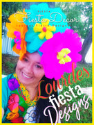 Fiesta Flowers Headband Fiesta Flowers Headband - Fiesta Arts Designs