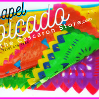 Papel Picado Fiesta Flags Party San Antonio Mexican Banners Decorations