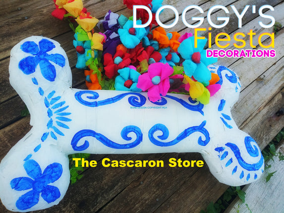 Dog Bone Pinata Fiesta Decoration