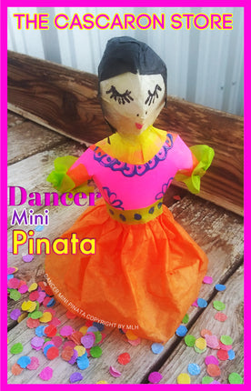 fiesta folk dancer mini pinata party decoration