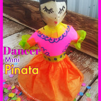 Fiesta Folk Dancer Mini Pinata