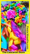 Fiesta Wreath San Antonio, Texas  Home Party Decoration