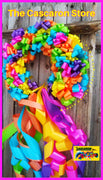 Fiesta Door Wreath San Antonio Design