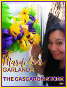 Mardi Gras Garlands Decorations