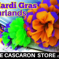 Mardi Gras Garlands Party Decoration