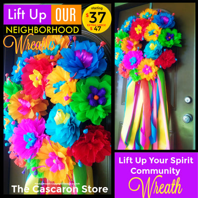 Lift Up Our Neighborhoods Wreaths Lift Up Our Neighborhoods Wreaths - Fiesta Arts DesignsFiesta Wreath