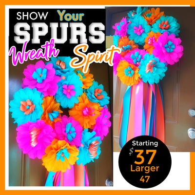 Spurs Wreath Spurs Wreath - Fiesta Arts DesignsFiesta Wreath
