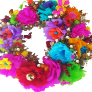 Fiesta Gold Wreaths San Antonio Home Decoration