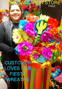 Large Custom Fiesta Wreath