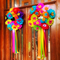 Fiesta Double Door Wreaths Fiesta Double Door Wreaths - Fiesta Arts DesignsFiesta Wreath