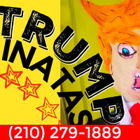Donald Trump Pinata Party Decoration Donald Trump Pinata Party Decoration - Fiesta Arts Designs