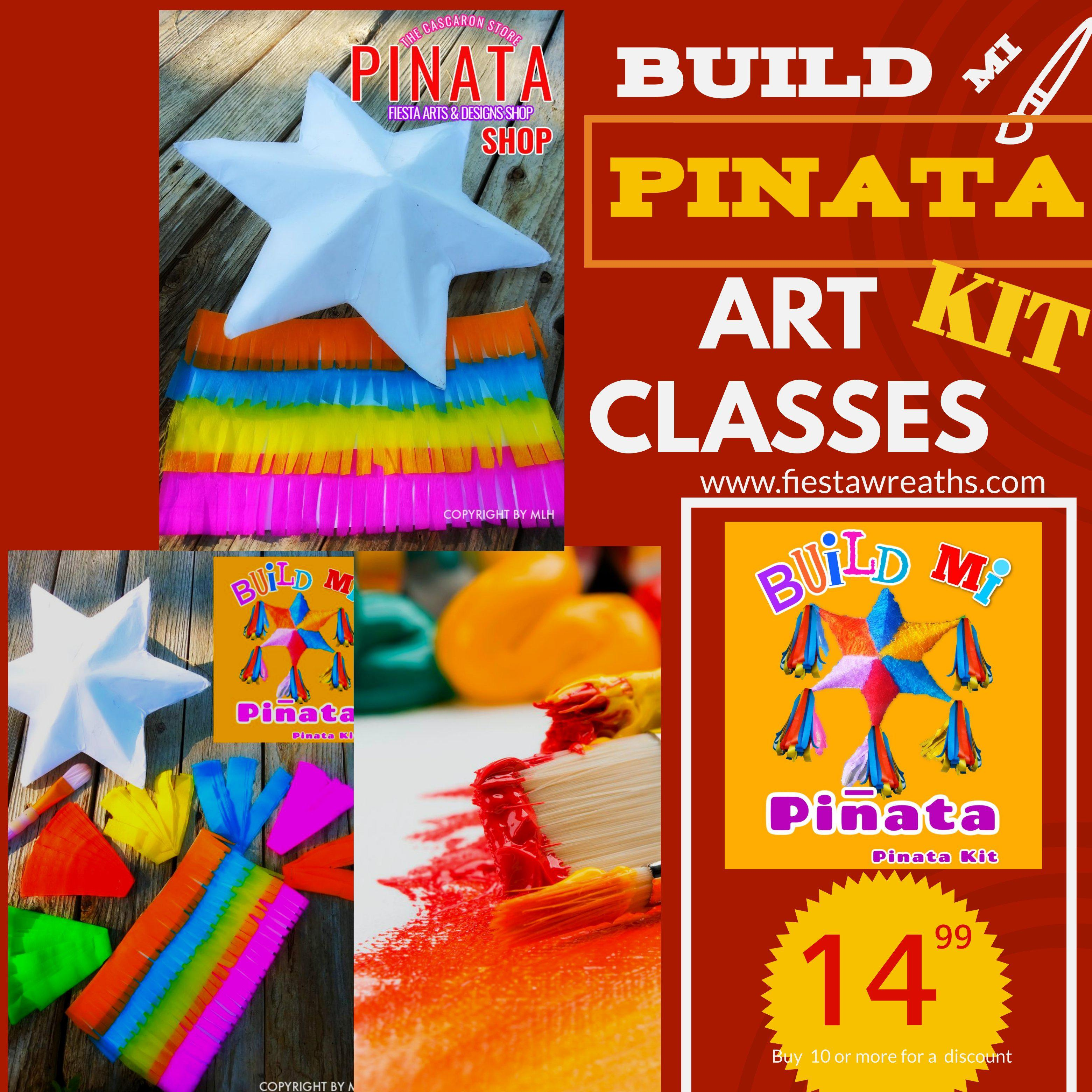 Build Mi Pinata Kit Build Mi Pinata Kit - Fiesta Arts Designs
