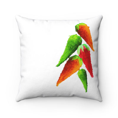 Jalapenos pinatas Square Pillow Jalapenos pinatas Square Pillow - Fiesta Arts DesignsHome Decor