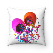 Fiesta Confetti Cascarones Pillow Home Decor Spun Polyester Square Pillow Fiesta Confetti Cascarones Pillow Home Decor Spun Polyester Square Pillow - Fiesta Arts DesignsHome Decor