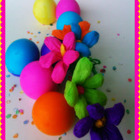 Dozen Cascarones Multi Colors Confetti Eggs Fiesta Party Supply Favors