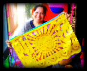 Papel Picado Plastic Flags Papel Picado Plastic Flags - Fiesta Arts Designs
