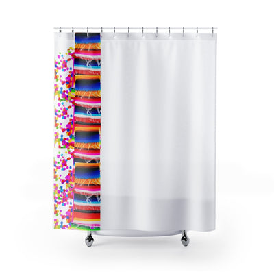Fiesta Shower Curtains with Mexican Zarape Designs Fiesta Shower Curtains with Mexican Zarape Designs - Fiesta Arts DesignsHome Decor