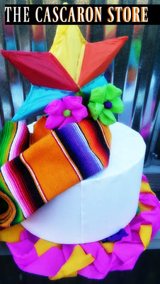 Fiesta Table Centerpiece Custom Decorations