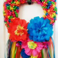 Fiesta Wreath Flowers Decor Fiesta Wreath Flowers Decor - Fiesta Arts DesignsFiesta Wreath