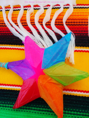 Star Colorful Mini Pinata Star Colorful Mini Pinata - Fiesta Arts Designs