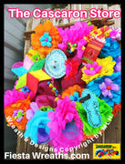 "Large Fiesta Wreath ""Fiesta 2021 Party Edition"""