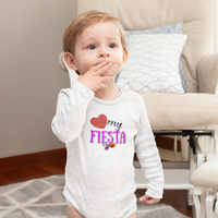 Infant Long Sleeve Bodysuit Love My Fiesta Infant Long Sleeve Bodysuit Love My Fiesta - Fiesta Arts DesignsKids clothes