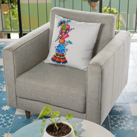 Fiesta Design Square Throw Pillow Fiesta Design Square Throw Pillow - Fiesta Arts DesignsHome Decor