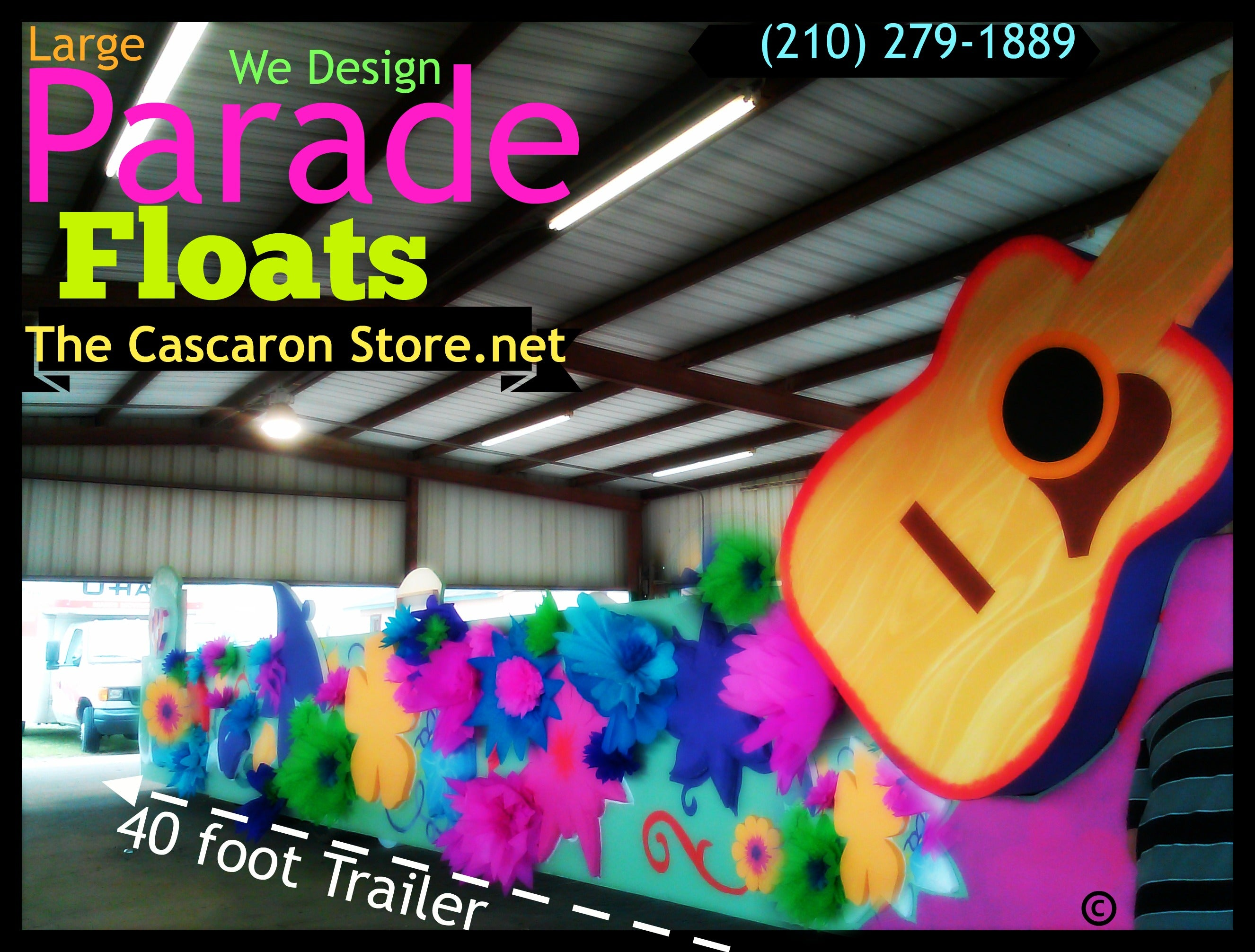 Parade Floats Designers that will impress your target audience in Texas