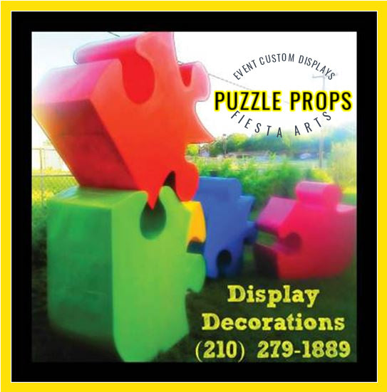 event & convention large custom display props decorations