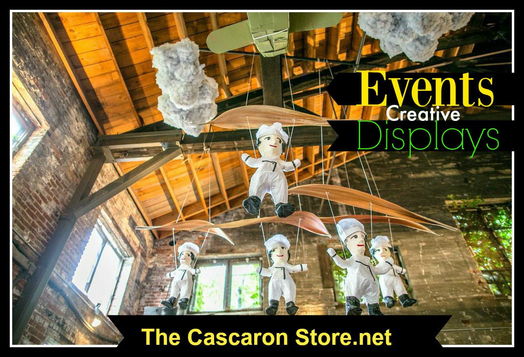 Convention & Event full custom decoration displays and props to fit your company, store or association theme or logo