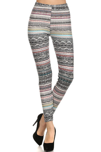 Blurred Lines Legging