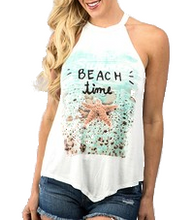Load image into Gallery viewer, Beach Vibes Tank Top
