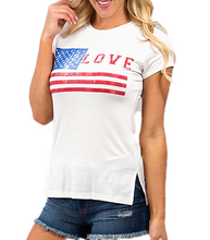 Load image into Gallery viewer, Proud to be an American Graphic Tee