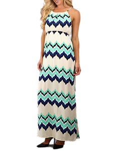 Shining Sea Maxi Dress