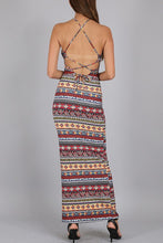 Load image into Gallery viewer, Aztec Maxi Dress