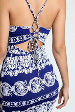 Load image into Gallery viewer, Paisley Bodycon Dress