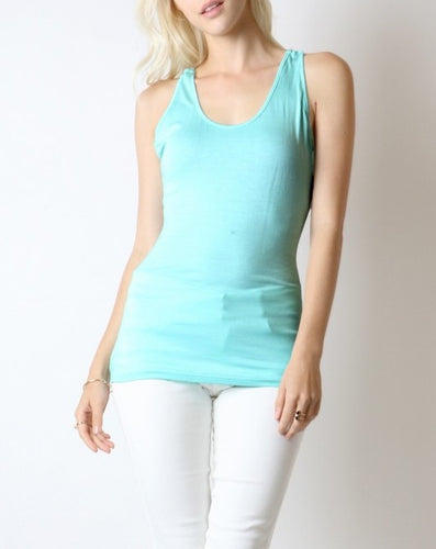 Christy Cross Back Tank Top