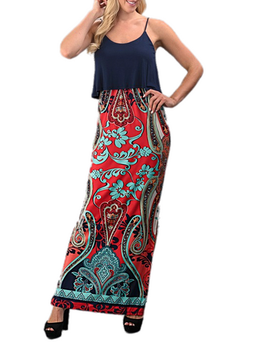 Totally Irresistible Maxi Dress