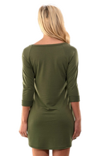 Load image into Gallery viewer, Emerald Aisle Sweater Dress