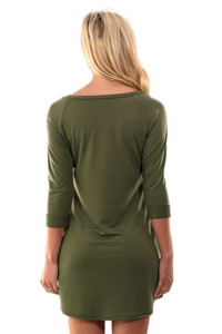 Emerald Aisle Sweater Dress